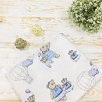 Пеленка детская фланелевая Lukoshkino ® Размер 80х100 см ФП-211