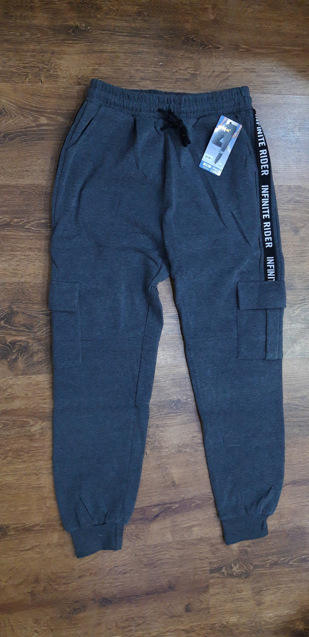"""Чоловічі теплі спортивні штани """"KENALIN"""", 4 кишені Art ^ 1501-1"""