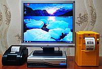 """Комплект Б/У Монитор HP 17""""+Б/У Системный блок ACER + Принтер этикеток GODEX BZB-2U, фото 1"""