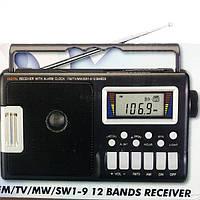 Радиоприёмник с цифровым экраном Mason R383L Выход на наушники 3,5 мм