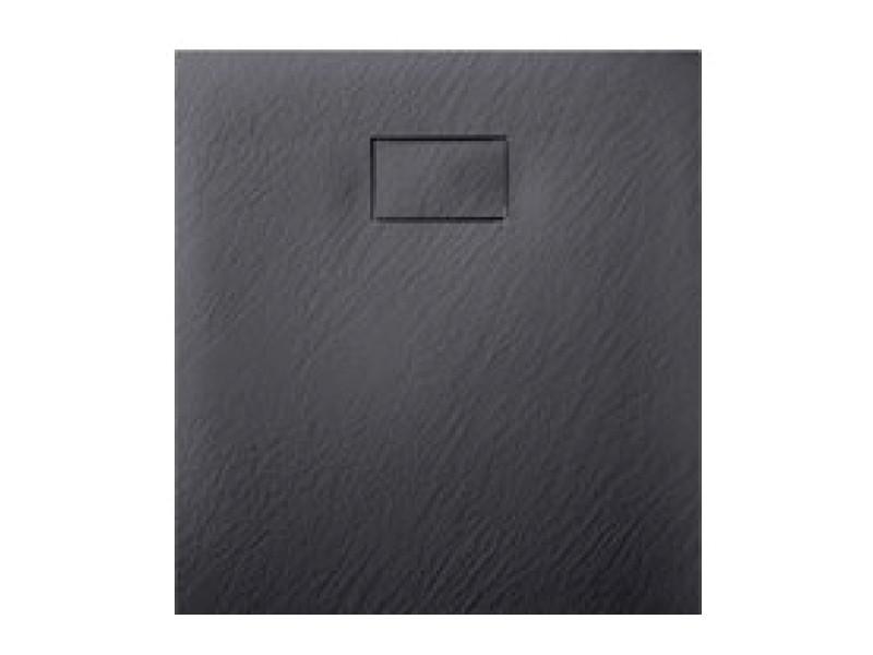 Tinto Душевой поддон (композит) 90*90 черный матовый 49837002 ASIGNATURA