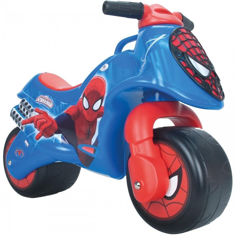 Мотоцикл каталка Человек паук Injusa 19060