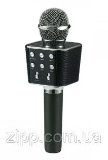 Микрофон | Беспроводной Bluetooth караоке микрофон WS-1688 | Караоке микрофон для детей | Караоке микрофон
