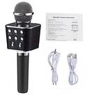 Микрофон | Беспроводной Bluetooth караоке микрофон WS-1688 | Караоке микрофон для детей | Караоке микрофон, фото 4