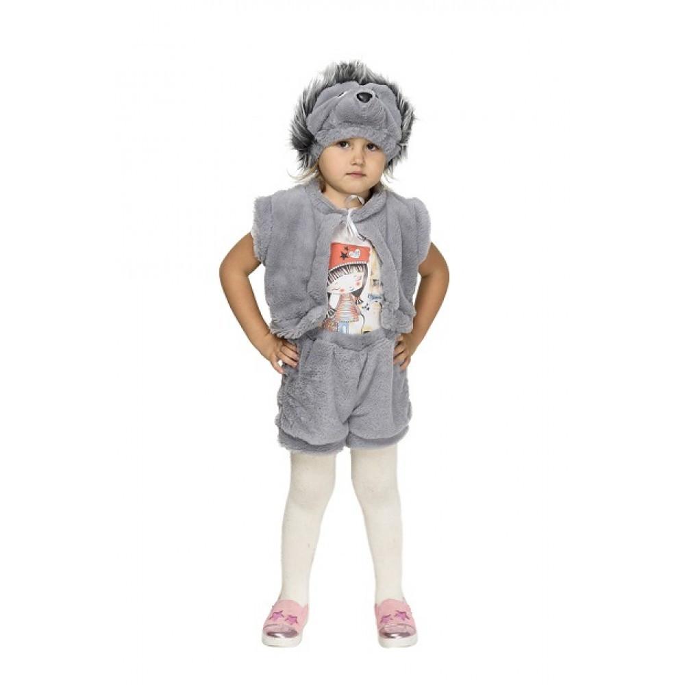 Детский карнавальный костюм Ежа для девочки/мальчика