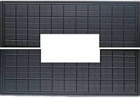 Форма плиты противоусадочной под памятник №4.1950х650х50мм, вырез 790х170мм