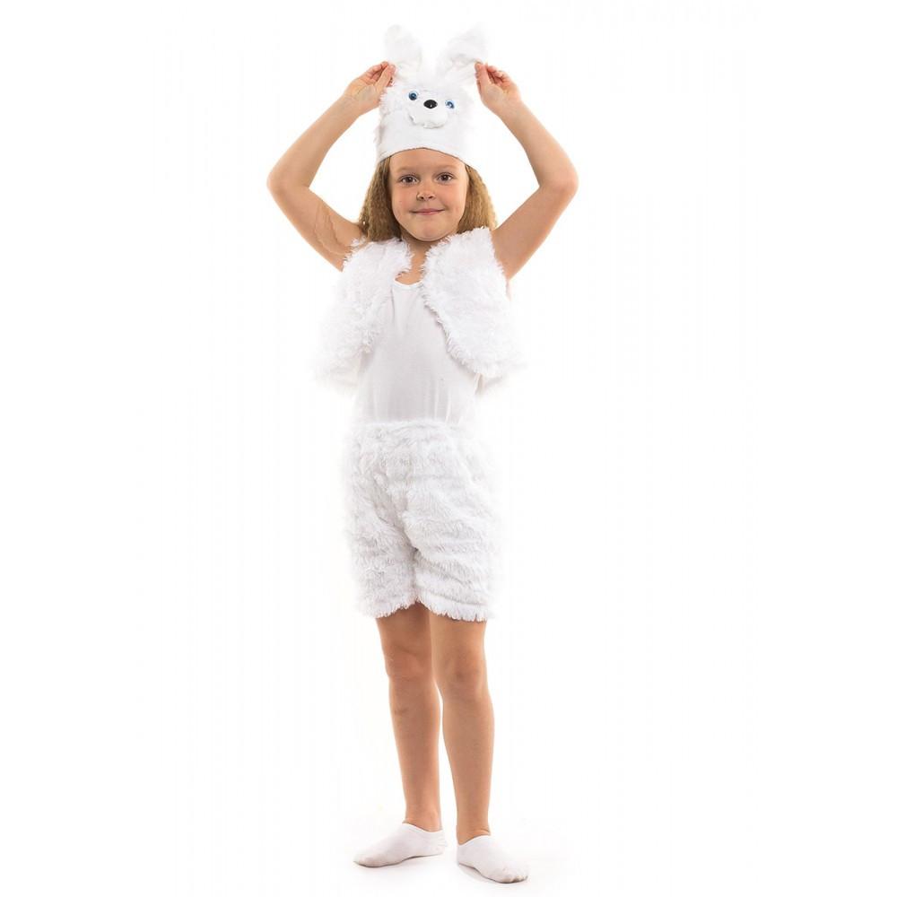 Дитячий карнавальний костюм Зайчика для дівчинки/хлопчика