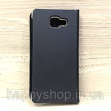 Чехол-книжка для Samsung Galaxy A7 2016 (SM-A710) Темно-синий, фото 3