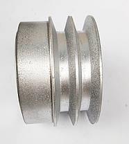 Центробежное сцепление на вал 25 мм (диаметр 110 мм 2-ремень Б), фото 3