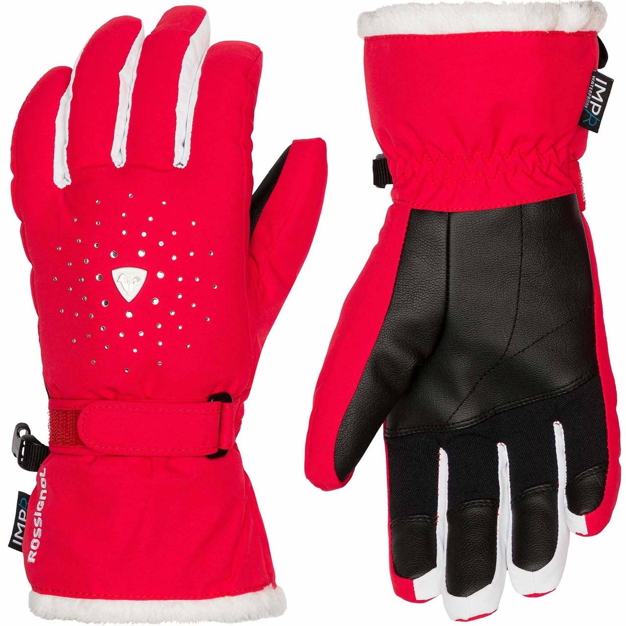 Горнолыжные перчатки ROSSIGNOL W FAMOUS IMPR  р L
