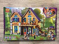"""Конструктор Lari 11204 Lego Friends (Аналог 41369) """"Дом Мии"""" 724 деталей 3 фигурки 53*33*6,5см"""