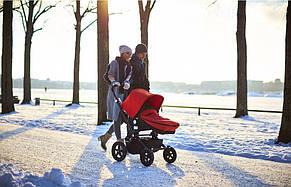 Теплий Конверт для коляски Bugaboo помаранчевий, фото 2