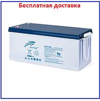 Аккумулятор Ritar 200Ач DG12-200 GEL, фото 1