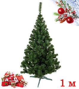 Штучна новорічна Ялинка Лісова Зелена 1 м