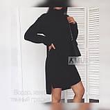 Женское платье свободного кроя Ангора Размер 42 44 46 48 50 52 54 56 В наличии 3 цвета, фото 2