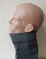 Мужской шарф-хомут на флисе, бафф мужской