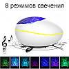 """Проектор-музичний нічник релаксуючий """"Океан"""" Білий, фото 8"""
