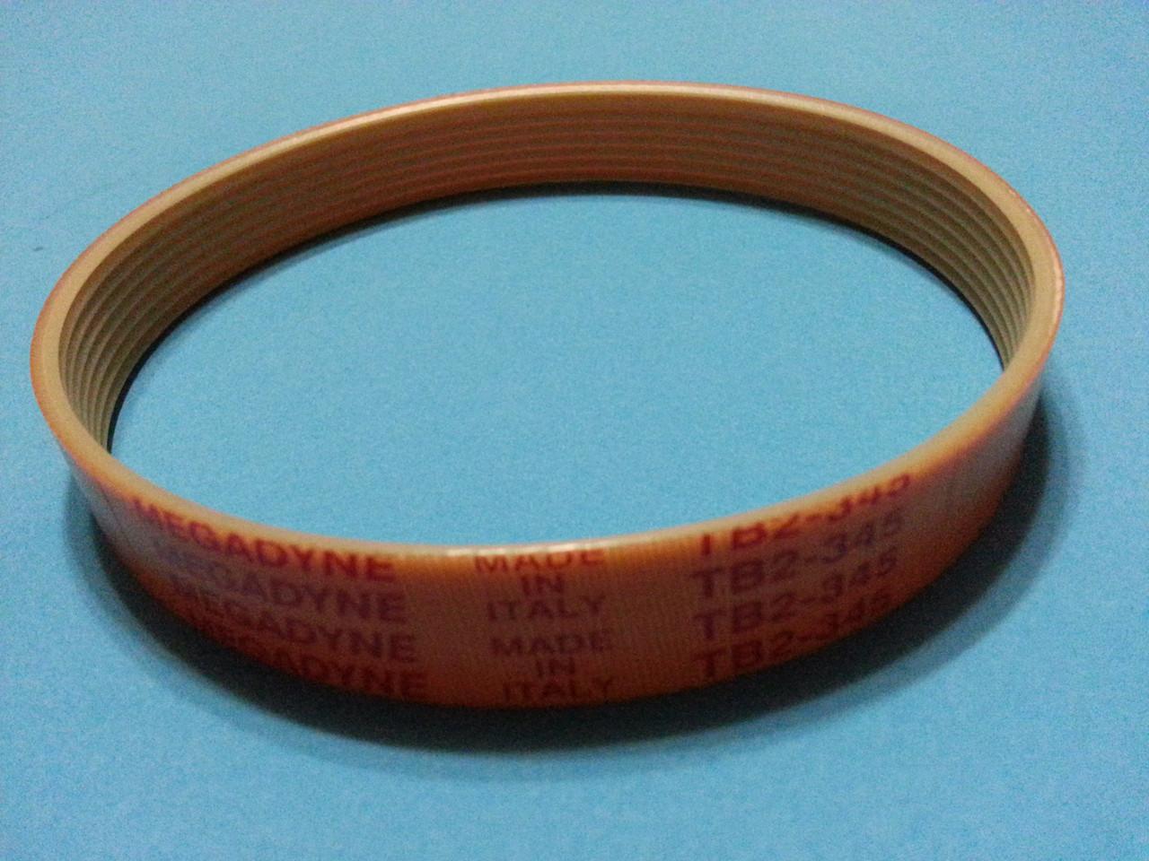 Ремень слайсера TB2-345 для Omas, Sirman Mirra 220/250/275