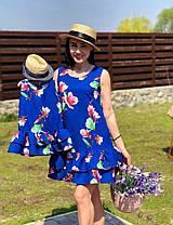 Family look одинаковые летние платья мама + дочка, фото 3