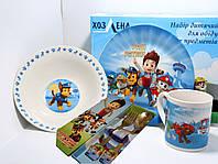 Деткая посуда Щенячий патруль 5в1, фото 1