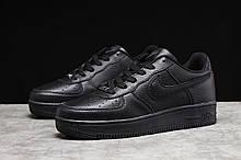 Кроссовки мужские Nike Air черные спортивные кроссовки Найк Аир Форс
