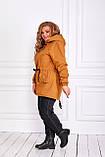 Женская зимняя куртка парка Джинс коттон на меху Размер 48 50 52 54 56 58 60 62 64 66 Разные цвета, фото 4
