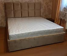 Ліжко Модерн в м'якій оббивці
