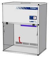 Шкаф ламинарный настольный 1 класс ББ ШЛн-1 в (1000x650x1250)