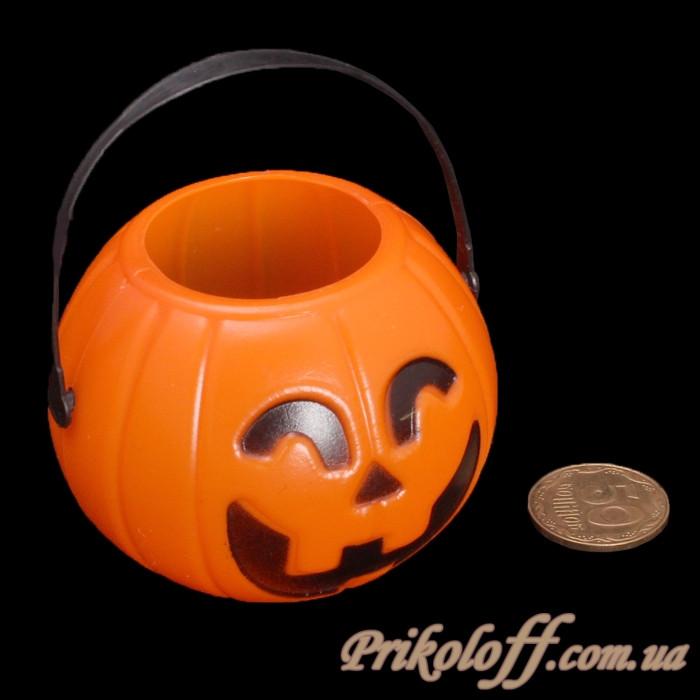 Декор на хеллоуин, корзинка-светильник