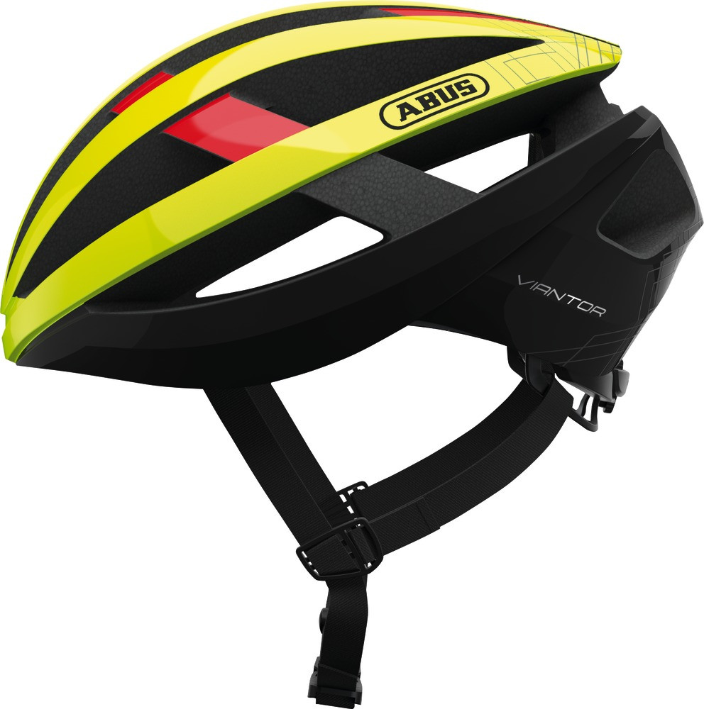 Шолом велосипедний ABUS VIANTOR S 51-55 Neon Yellow