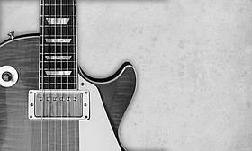 """Картина на стекле """"Gibson Les Paul"""""""