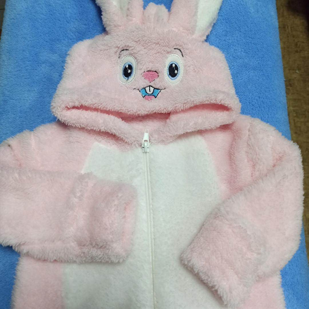 Теплый комбинезон для новорожденных. Комбинезон розового цвета. Очень мягкий и удобный.