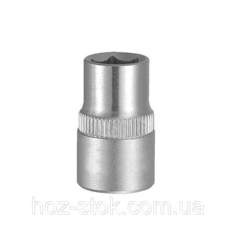 Насадка шестигранна коротка 1/2 '', 11 мм, CrV (6070112)
