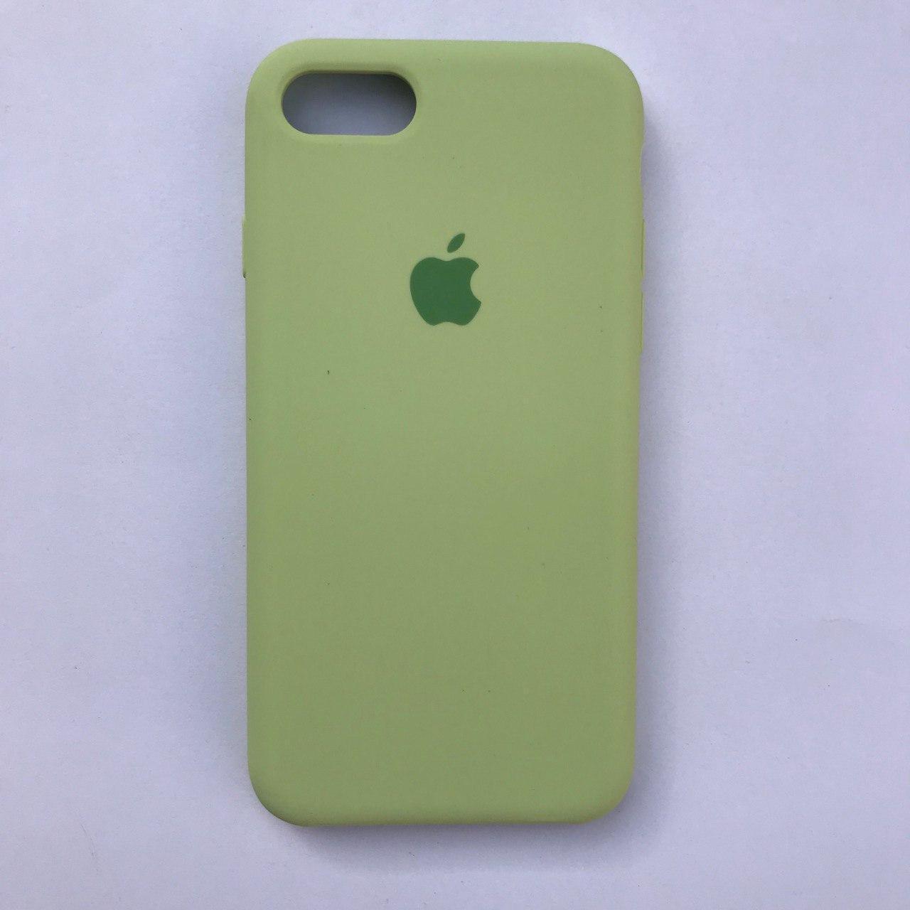 Чехол Silicone Case для Apple iPhone 7, 8 Avocado