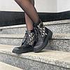 """Женские ботинки в стиле Dior Boots """"Black"""", фото 6"""