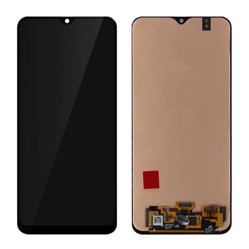 Дисплей для Samsung A3050 Galaxy A40s с тачскрином черный Оригинал Oled
