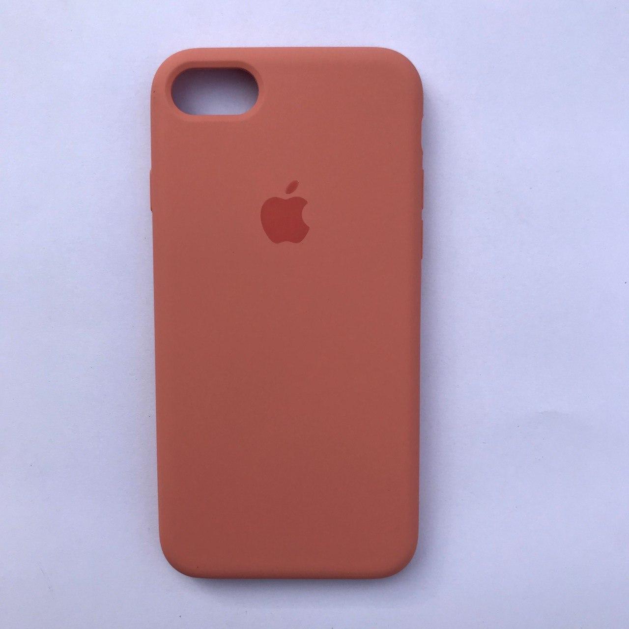 Чехол Silicone Case для Apple iPhone 7, 8 Begonia