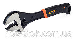 Ключ розсувний Miol 300 мм (0-35 мм) прогумована рукоятка (54-046)