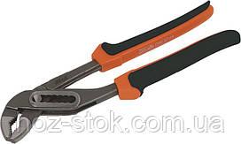 Кліщі переставні Miol з комб. рукояткою, Мо 240 мм, Premium (41-510)
