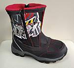 Термо ботинки зимние детские B&G R161-3201 для мальчика  р.25