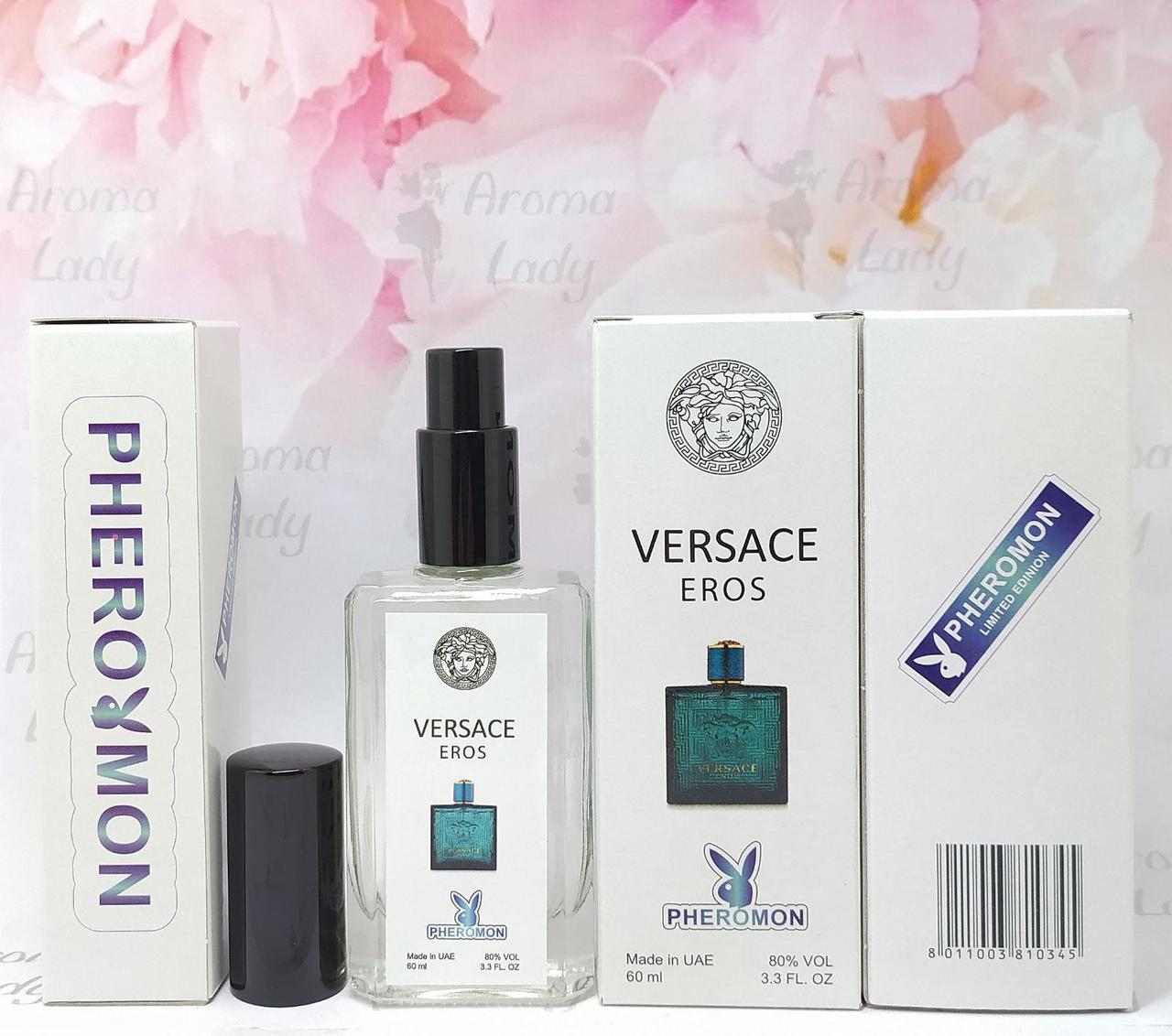 Мужской аромат Versace Eros (Версаче Эрос) с феромонами 60 мл