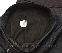 Жіночі зимові штани з начосом у великих розмірах 2XL - 7XL Лосіни жіночі з кишенями - батал, фото 3