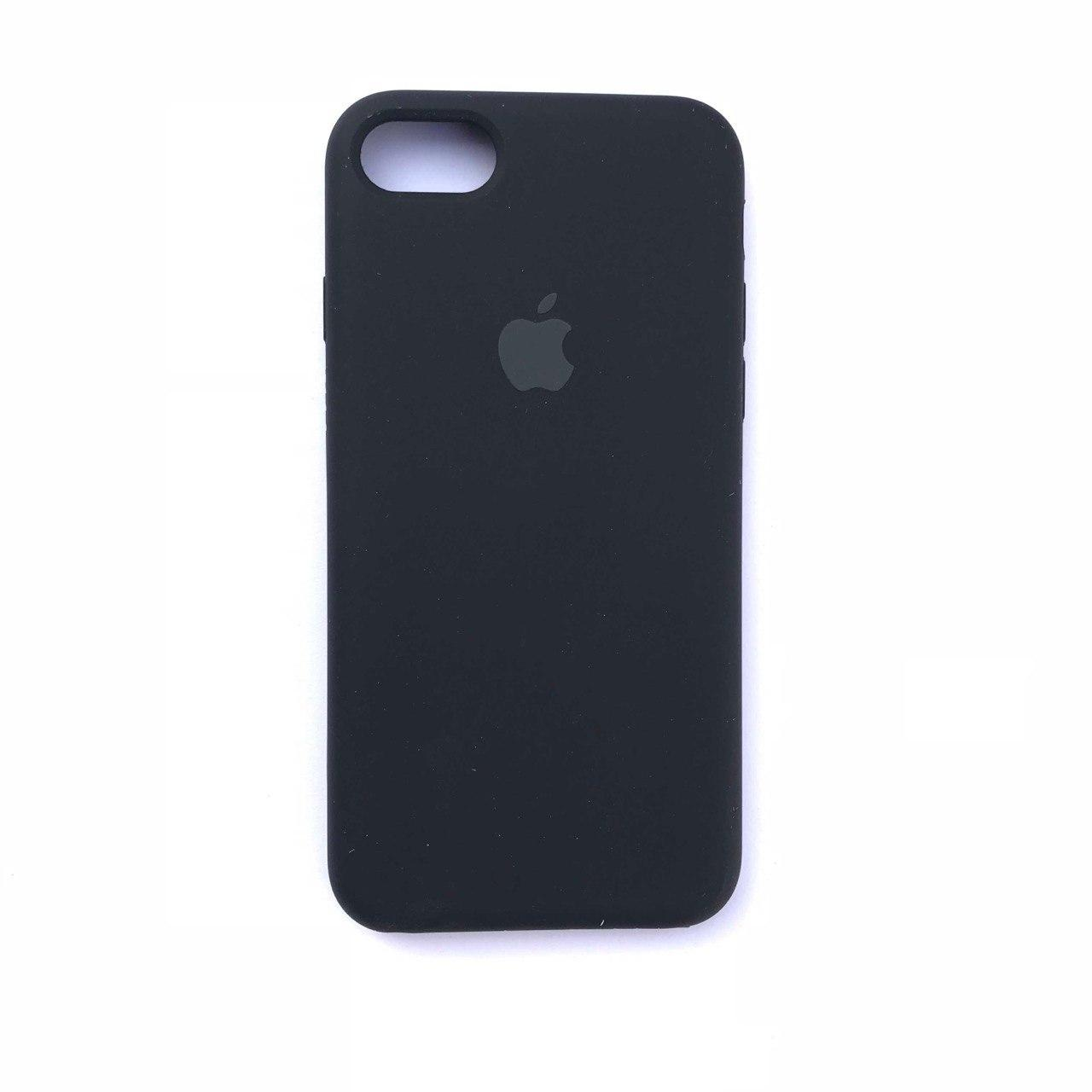 Чехол-накладка Silicone Case для Apple iPhone 7 iPhone 8 Black