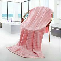 Набор Полотенец Hotel & Spa - Комплект Банных Полотенец 3 шт: 70*140 см, 35*75 см, 35*35 см Розовая Роза, фото 3