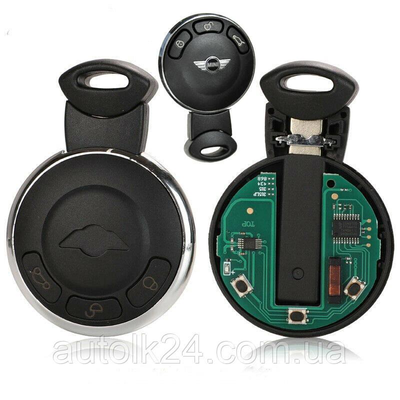 Смарт ключ MINI Cooper 3 кнопки 868mhz