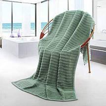 Набор Полотенец Hotel & Spa - Комплект Банных Полотенец 3 шт: 70*140 см, 35*75 см, 35*35 см Темно Зеленый, фото 3
