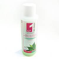 Жидкость для снятия искусственных ногтей и очистки кистей от акрила с экстрактом Зеленого чая Velena, 100 мл