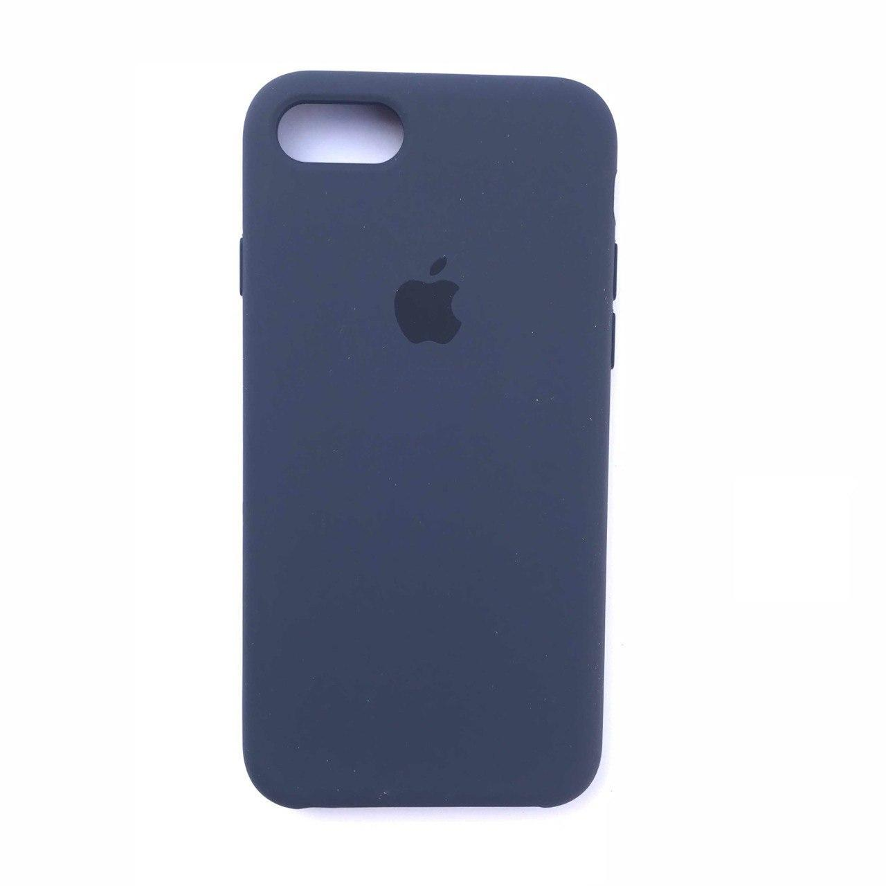 Чехол Silicone Case для Apple iPhone 7, 8 Midnight Blue