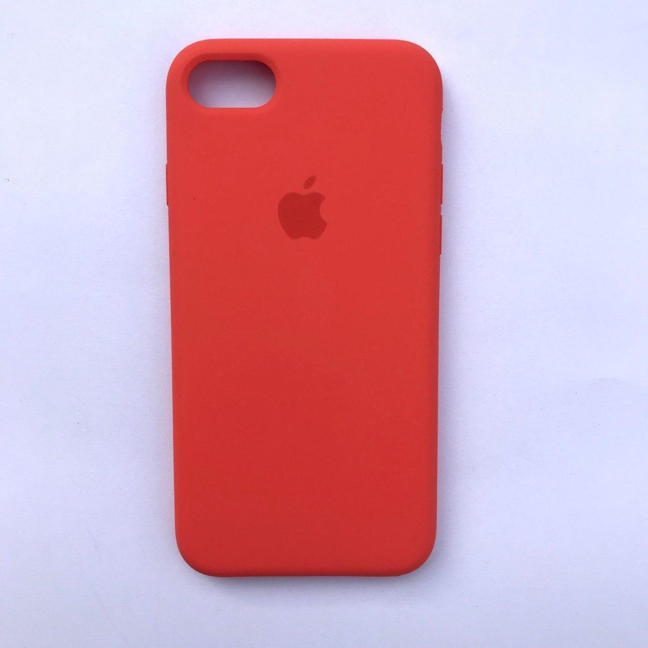 Чехол-накладка Silicone Case для Apple iPhone 7 iPhone 8 Orange