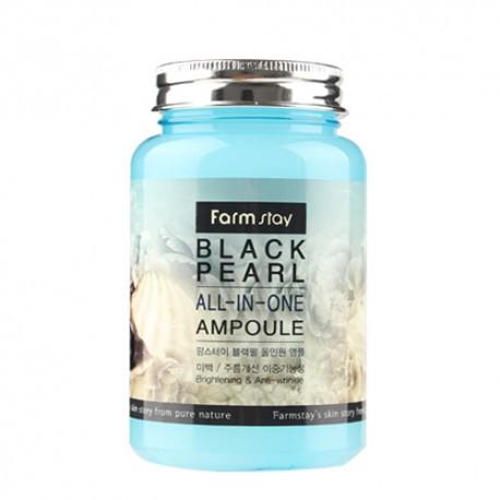 Ампульная сыворотка с экстрактом черного жемчуга FarmStay Black Pearl All-in-one Ampoule